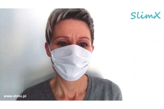 Protective mask for adults sterilized